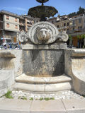 Castel di Sangro - springbrunn Royaltyfria Foton