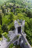 Castel di vezio varenna italy Stock Photo