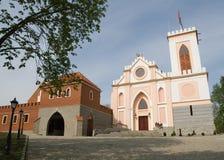 Castel em Gostynin (Poland) imagens de stock