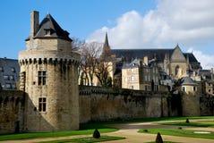 Castel en Vannes Foto de archivo