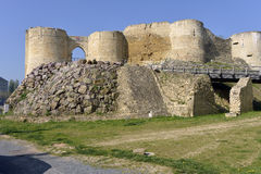 Castel of Falaise in France Royalty Free Stock Photos