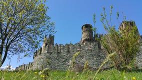 Castel Fenis imagenes de archivo
