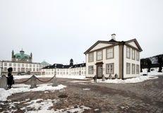 castel fredensborg 免版税图库摄影