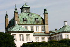 castel fredensborg 免版税库存图片