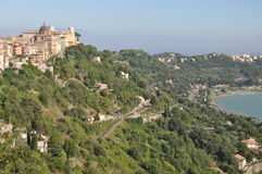 Castel Gandolfo royalty free stock photos