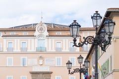 Castel Gandolfo, Italia immagini stock