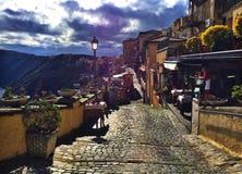 Castel Gandolfo - Lago Albano, Itália imagem de stock royalty free