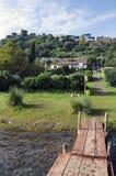 Castel Gandolfo by Lake Albano Royalty Free Stock Images