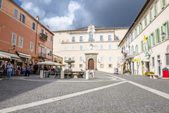 Castel Gandolfo Stock Photography