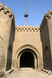 Castel gate. Castel main gate royalty free stock photography