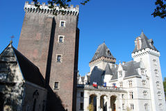 The Castel Henri IV of Pau royalty free stock photography