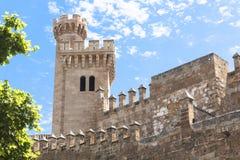 Castel i Palma de Majorca (Mallorca) Fotografering för Bildbyråer
