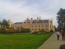 Castel i tjeckisk republik Arkivfoton