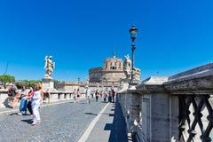 castel Italie Rome d'Angelo sant Photographie stock