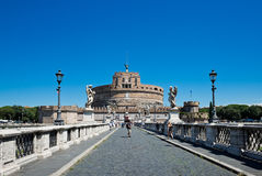 castel Italie Rome d'Angelo sant Photo libre de droits