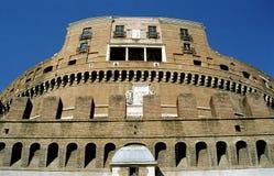 castel Italie Rome d'Angelo sant images stock