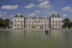 Castel in Jardin de Luxembourg, Paris Royalty Free Stock Image