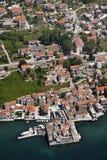 Castel在Kastel Gomilica 免版税库存照片