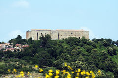 Castel lagopesole Royalty Free Stock Photo