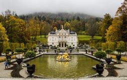 Castel Linderhof Immagini Stock Libere da Diritti