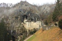 Castel Lueghi Predjama Castle in Slovenia Slovenija Fotografie Stock