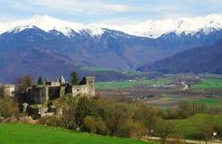 Castel médiéval de miolan Photographie stock libre de droits