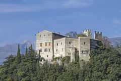 Castel Madruzzo Fotos de archivo
