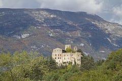 Castel Madruzzo en Trentino Imagenes de archivo