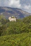 Castel Madruzzo en Trentino Imagen de archivo