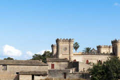 Castel in Mallorca. Medieval castel at the island Mallorca, Spain Stock Photography