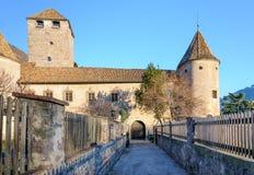 Castel Mareccio - Schloss Maretsch foto de archivo