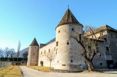 Castel Mareccio - Schloss Maretsch fotos de archivo libres de regalías