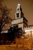 castel Milano sforzesco dwa Obrazy Royalty Free