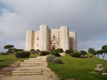 The Castel monte in Italy Stock Photo