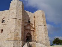 The Castel monte in Italy Royalty Free Stock Images