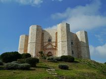 The Castel monte in Italy Royalty Free Stock Photography