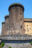 Castel Nouvo, medieval castle in Naples, Italy Royalty Free Stock Photography