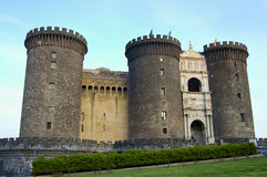 Castel Nuovo - Неаполь - Италия Стоковая Фотография