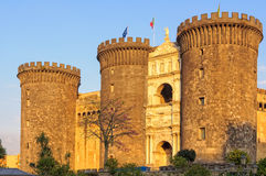Castel Nuovo - Неаполь Стоковое фото RF