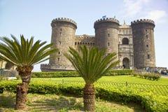 Castel Nuovo (новый замок), Неаполь, Неаполь, Италия Стоковая Фотография RF