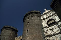 Castel Nuovo Royalty Free Stock Images