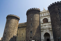 Castel Nuovo photo stock