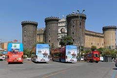 Castel Nuovo Stockbild