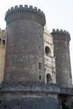 Castel Nuovo - ingresso principale immagini stock libere da diritti