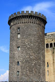Castel Nuovo, Naples. Castel Nuovo (Maschio Angioino) is a medieval castle in Naples, Italy stock images