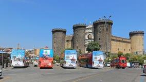 Castel Nuovo Naples Immagine Stock Libera da Diritti