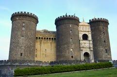Castel Nuovo - Naples - Italien Arkivbild