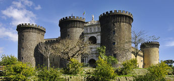 Castel Nuovo. Naples, Italy. Castel Nuovo. Most  famous place of view in Naples, Italy Stock Photography