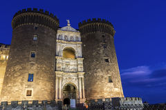 Castel Nuovo in Naples, Italy Stock Photos