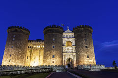 Castel Nuovo in Naples, Italy Stock Images